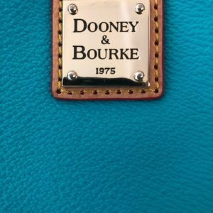 Large Dooney and Bourke Teal Handbag
